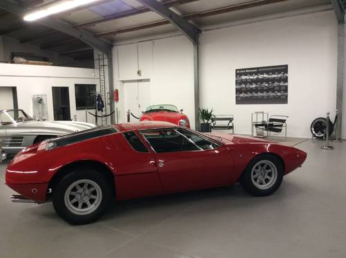 1970 De Tomaso Mangusta unrestored 7000 Miles perfect For Sale (picture 1 of 6)