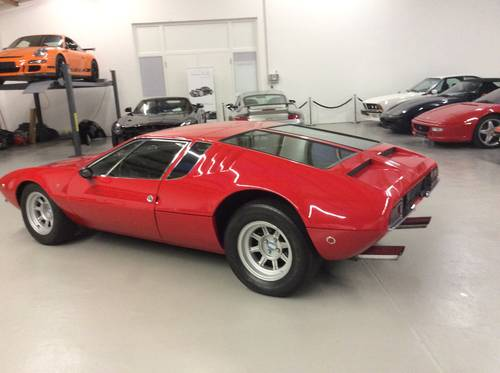 1970 De Tomaso Mangusta unrestored 7000 Miles perfect For Sale (picture 4 of 6)