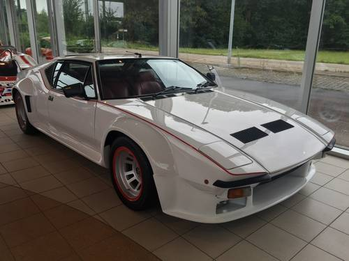 1983 DeTomaso Pantera GT5 Preowner: Scheich Khaled M.A.Al Ashmawi For Sale (picture 1 of 4)