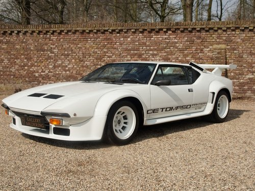 1985 DeTomaso Pantera GT5 Swiss car only 23.236 km only 252 build For Sale (picture 1 of 6)