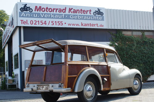 1952 DKW F89 Universal Woody For Sale (picture 1 of 6)