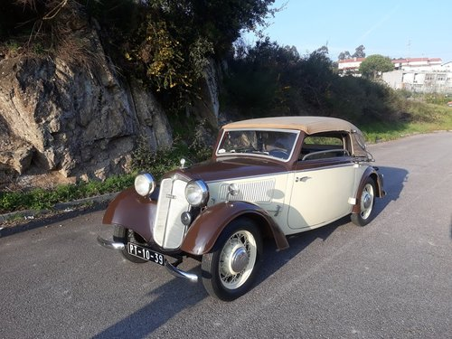 1938 DKW Cabriolet Deluxe For Sale (picture 1 of 6)