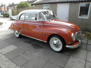 1960 Dkw auto union 1000s two door saloon