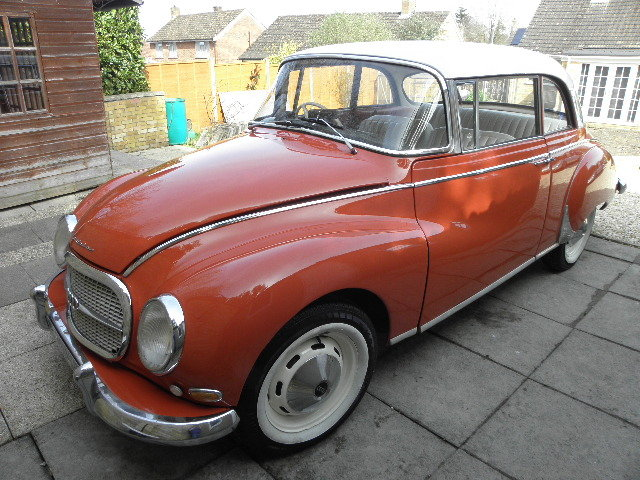 1960 Dkw auto union 1000s two door saloon For Sale (picture 2 of 6)