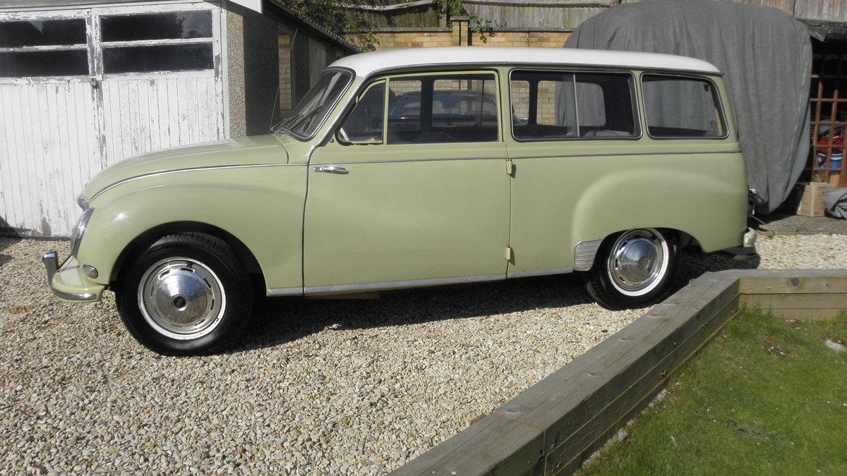 1963 Dkw auto union 1000 estate For Sale (picture 1 of 6)