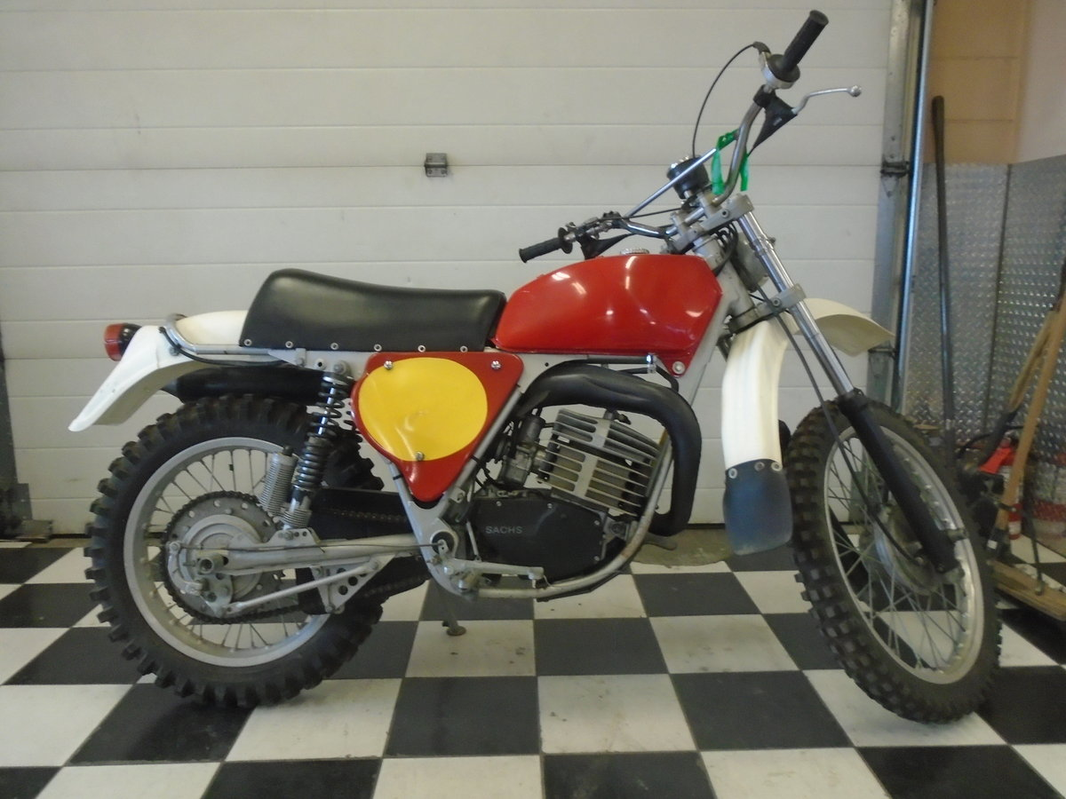 1978 Unrestored Hercules 250 GS Enduro For Sale (picture 1 of 4)