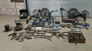 1959 TWO DKW RT 200 VS RESTORATION PROJECTS SELLING TOGETHER SOLD