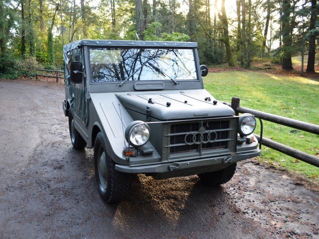 1963 DKW Auto Union Audi Munga Jeep SOLD by Auction (picture 1 of 6)