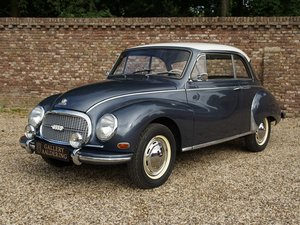 1959 DKW F93 3=6 Coupe completely restored, rare and original Dia