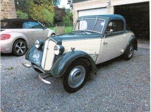 1936 DKW 2 doors with spider