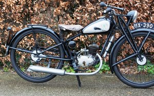 Picture of 1937 DKW RT98 fully documented bike