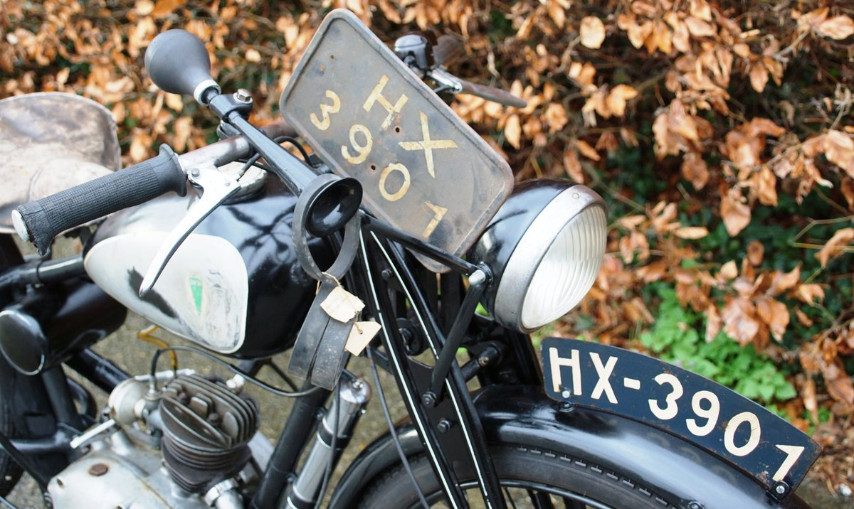 1937 DKW RT98 fully documented bike  For Sale (picture 4 of 6)