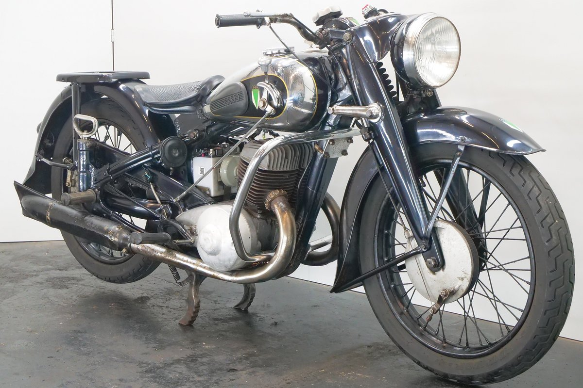 DKW NZ500 1941 500cc 2 cyl ts For Sale (picture 4 of 6)
