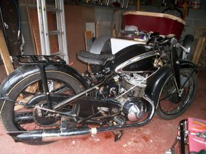 1938 Superb example of rare 500 cc twin two stroke DKW For Sale