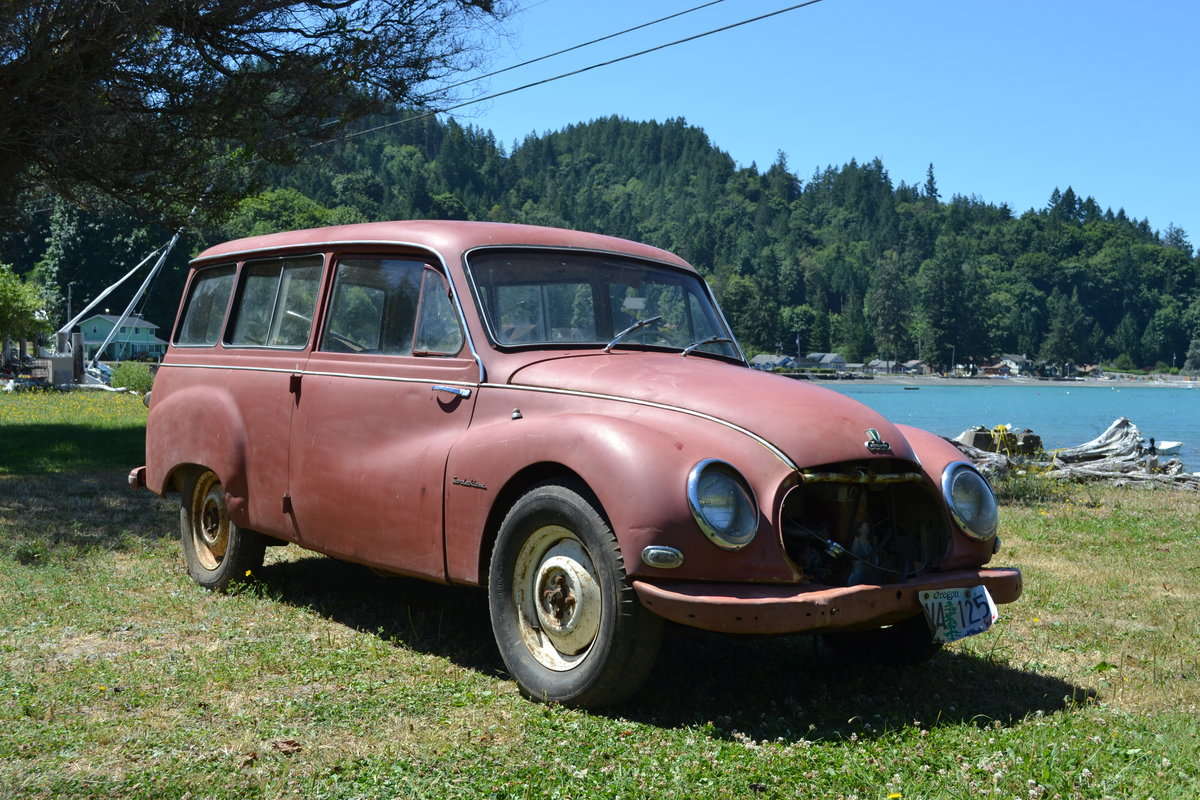 1958 DKW/ Auto Union Universal 1000S Project/Parts Car.  For Sale (picture 1 of 6)