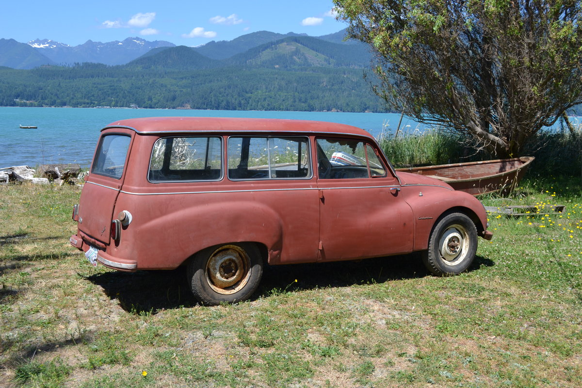 1958 DKW/ Auto Union Universal 1000S Project/Parts Car.  For Sale (picture 2 of 6)