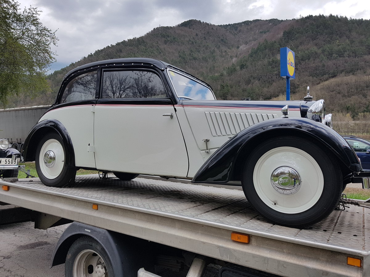 1935 Dkw 700 f-5 resen restauration professional For Sale (picture 1 of 6)