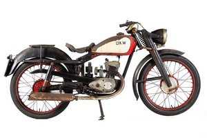 1950 DKW RT125 PROJECT (LOT 522) For Sale by Auction