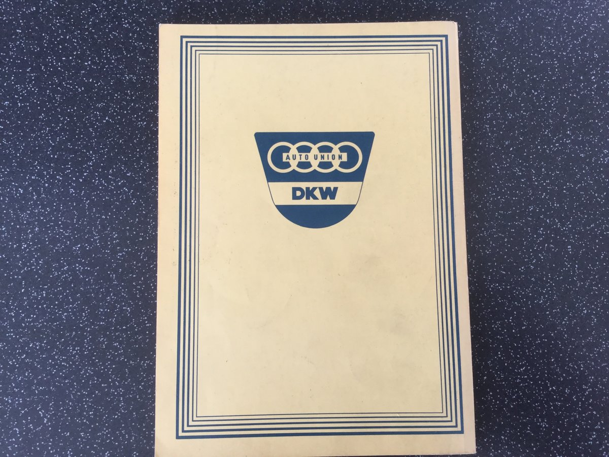 Auto Union, how to drive your DKW. For Sale (picture 2 of 6)