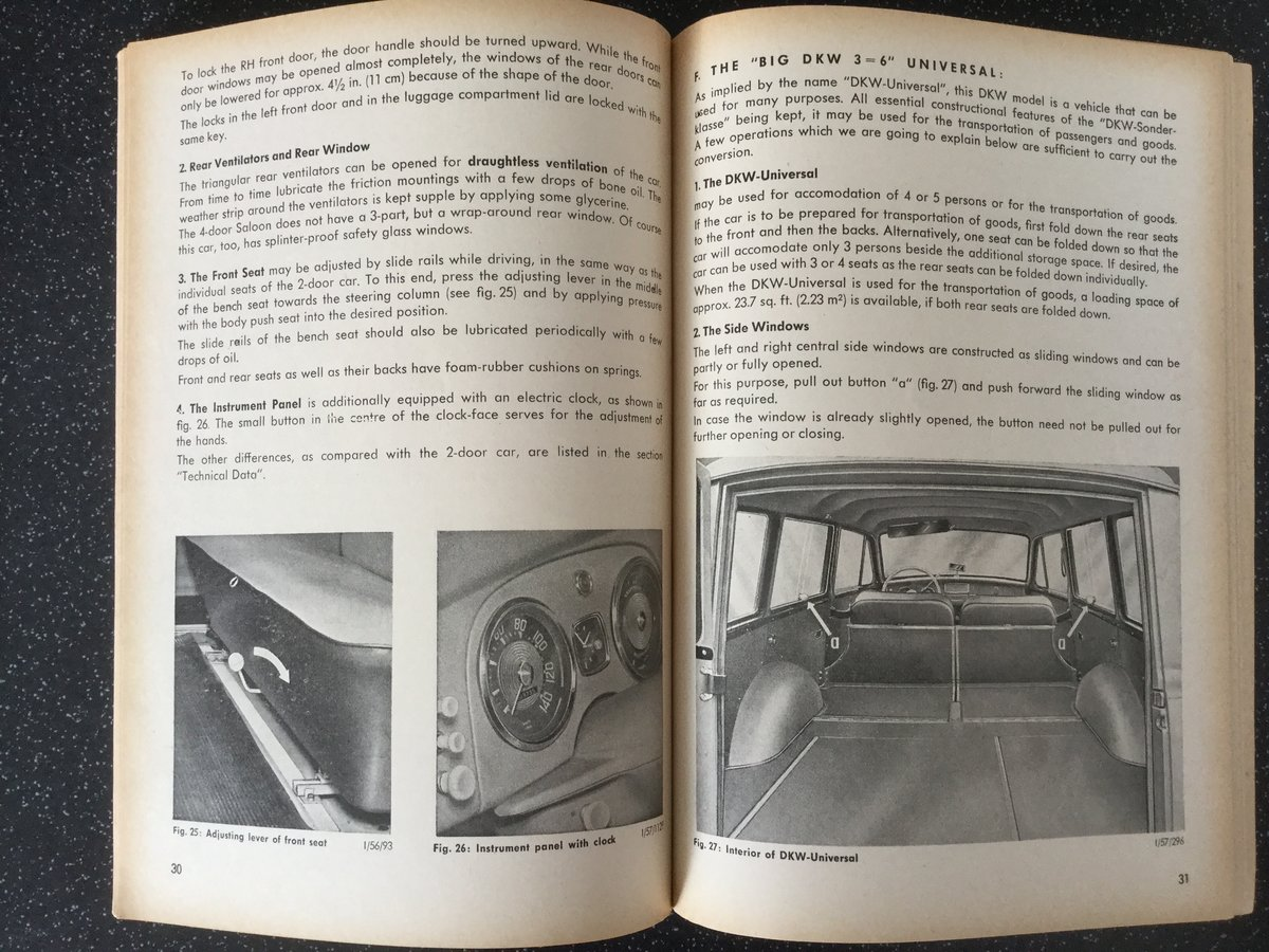 Auto Union, how to drive your DKW. For Sale (picture 6 of 6)