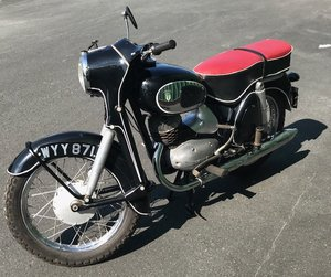 1959 Dkw 200 vs motorcycle