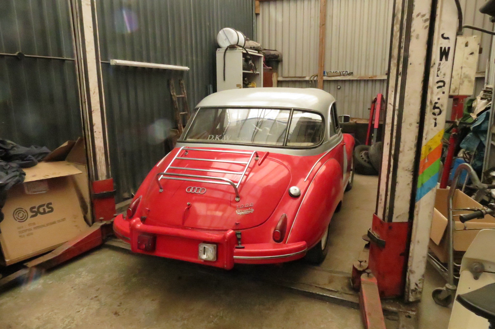 Picture of 1957 DKW 1000 classic rally car replica For Sale