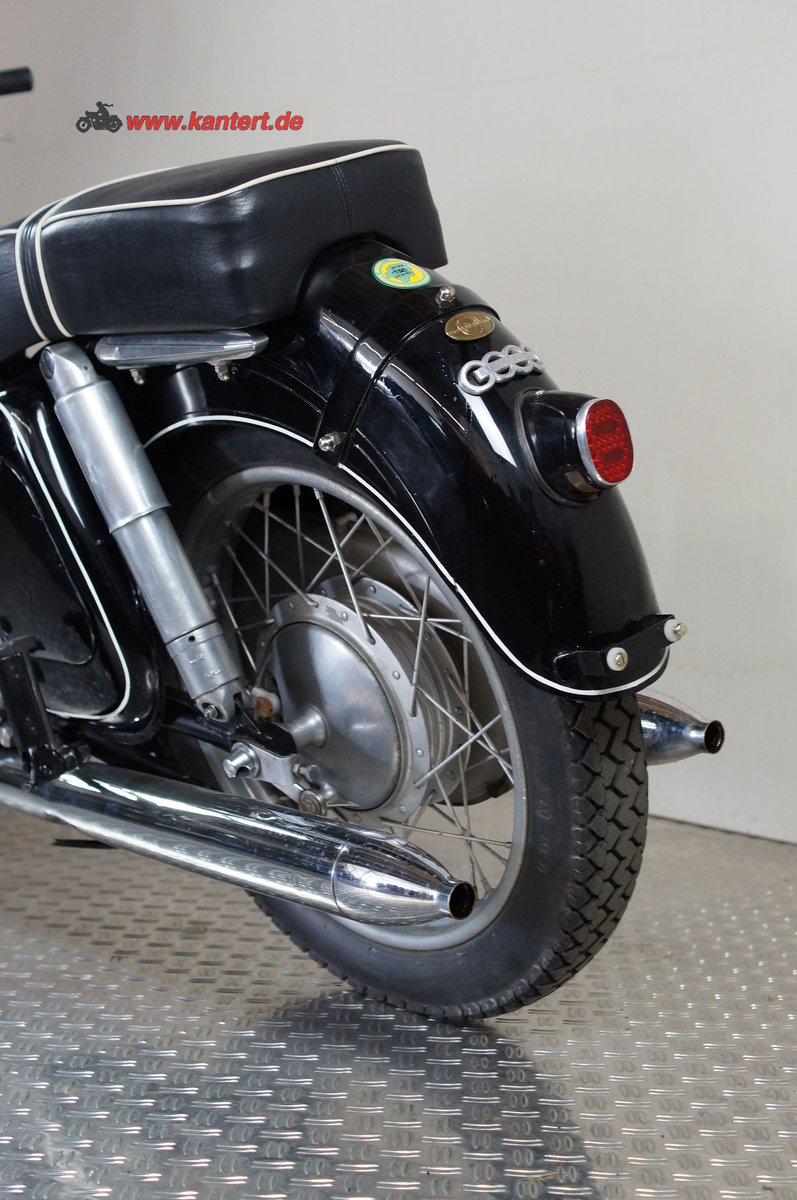 """1956 DKW RT 350 S """"the Queen of Ingolstadt"""" 348 cc, 18 hp For Sale (picture 8 of 12)"""