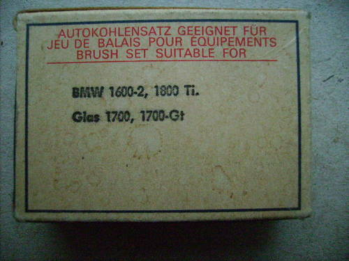 1930 Brush sets for Starter and Dynamo For Sale (picture 4 of 4)