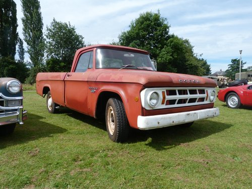 1968 Dodge D200 Single Cab Pickup Truck For Sale (picture 1 of 6)