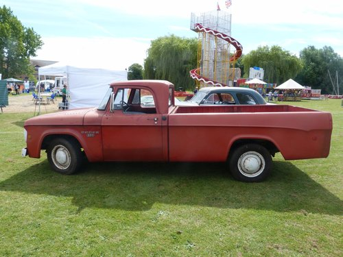 1968 Dodge D200 Single Cab Pickup Truck For Sale (picture 2 of 6)