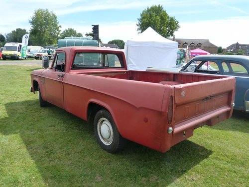 1968 Dodge D200 Single Cab Pickup Truck For Sale (picture 3 of 6)
