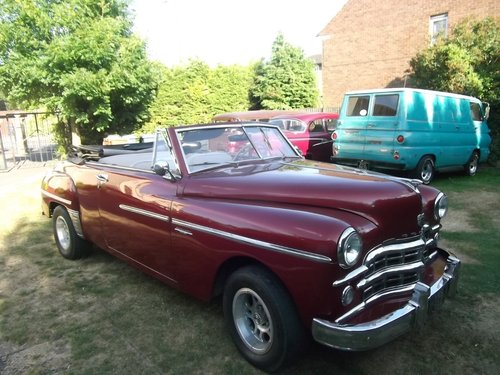 1948  Convertible 2 Door 318 V8, 5.2L Automatic, Needs Work SOLD (picture 1 of 6)