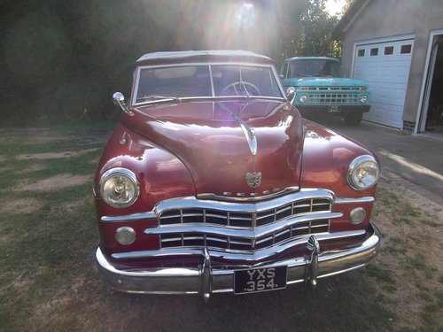 1948  Convertible 2 Door 318 V8, 5.2L Automatic, Needs Work SOLD (picture 4 of 6)