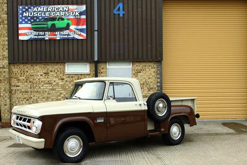 1969 Dodge D100 Stepside Pick Up Truck SOLD (picture 1 of 6)