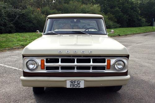 1969 Dodge D100 Stepside Pick Up Truck SOLD (picture 2 of 6)