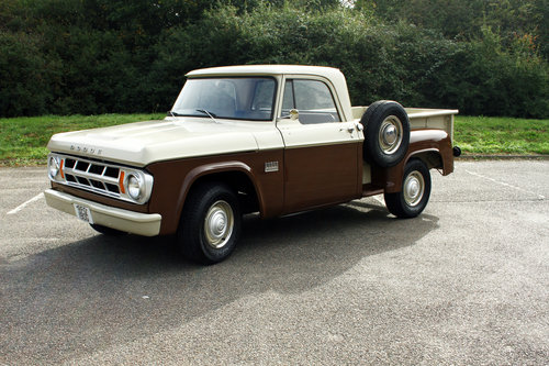 1969 Dodge D100 Stepside Pick Up Truck SOLD (picture 3 of 6)