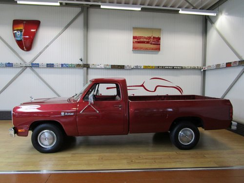1985 Dodge D100 Costum Ram Pick Up For Sale (picture 2 of 6)