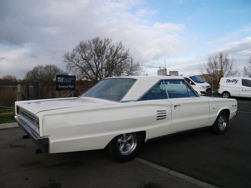 1966 Coronet 500 coupe V8, Automatic, Mopar, Coupe, Power Steerin SOLD (picture 3 of 6)