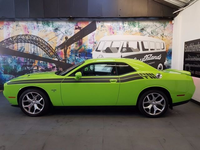 2016 Retro - Sublime Green Dodge Challenger R/T For Sale (picture 1 of 6)