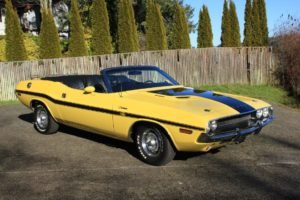 1970 Dodge Challenger Convertible = R/T Clone 340 Manual $89
