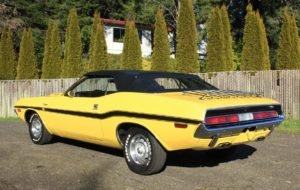 1970 Dodge Challenger Convertible = R/T Clone 340 Manual $89 For Sale (picture 3 of 6)