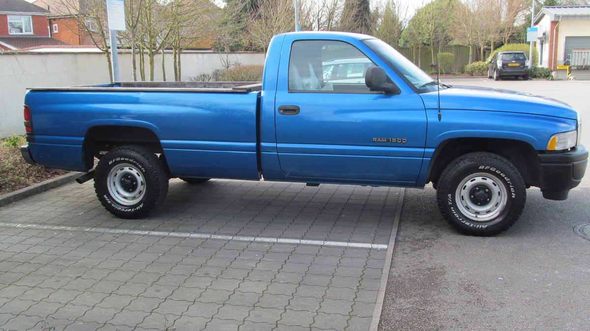 1998 Great Low Mileage Fleet Spec RAM 1500 LWB For Sale (picture 2 of 6)