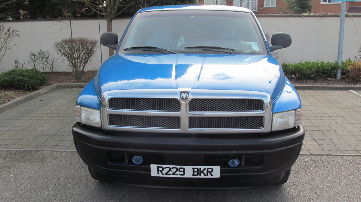 1998 Great Low Mileage Fleet Spec RAM 1500 LWB For Sale (picture 4 of 6)