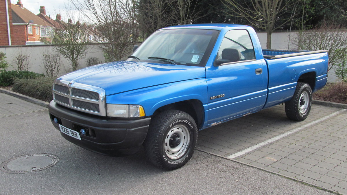 1998 Great Low Mileage Fleet Spec RAM 1500 LWB For Sale (picture 5 of 6)
