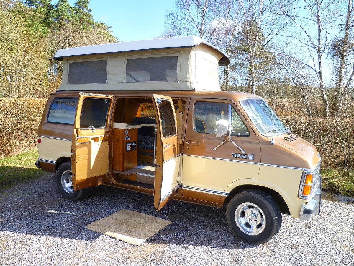 Royal South Toyota >> 1985 Dodge B250 Ram Sportsmobile Campervan For Sale | Car ...