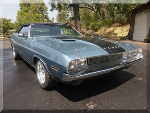 1971 Dodge Challenger Convertible = 340 V-8 Auto $49.9k For Sale