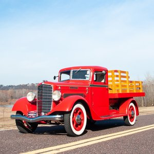 1935 Diamond-T 211-AD Deluxe One-ton Stakebed Pickup $33.9k For Sale
