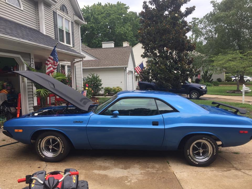 1972 Dodge Challenger (Virginia Beach, VA) $32,500 obo For Sale (picture 3 of 6)