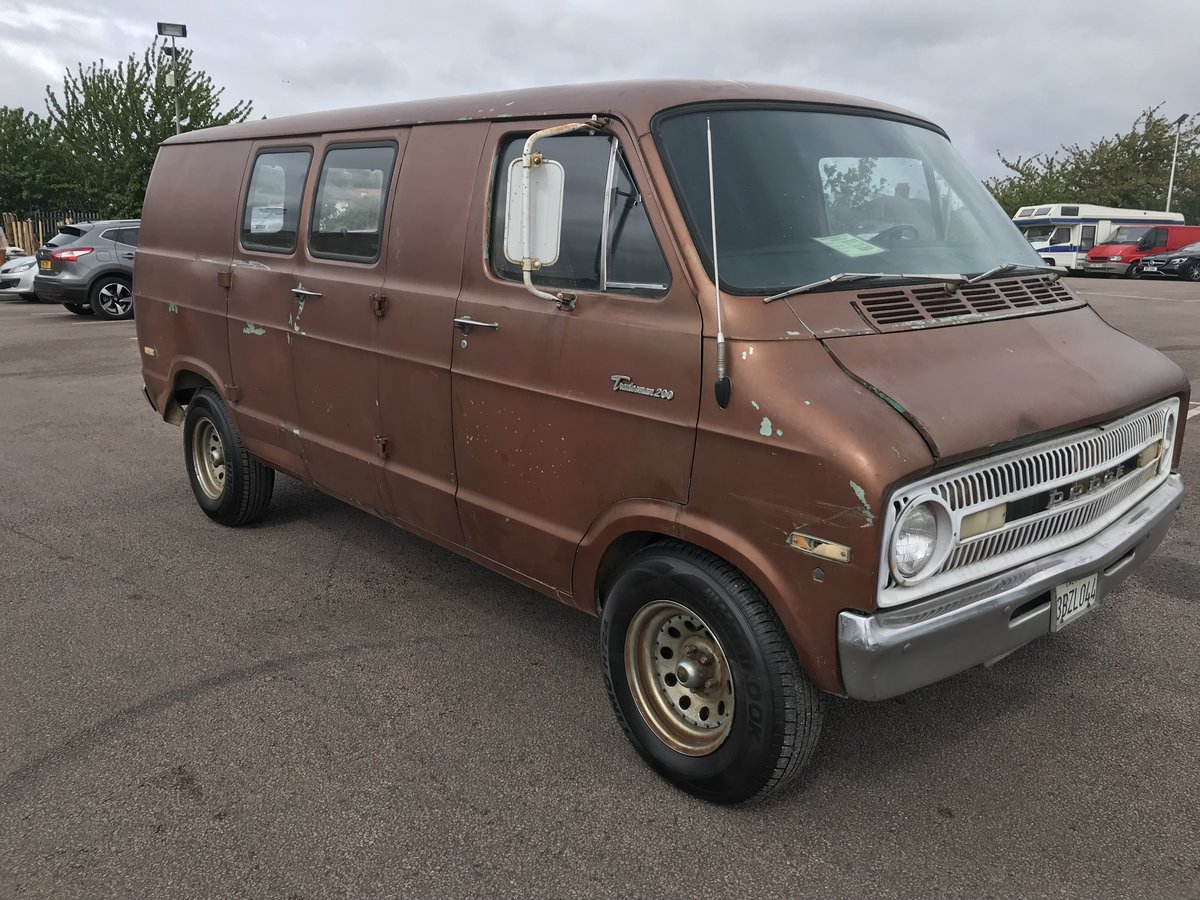 Dodge van V8 1971. UP DATE ! For Sale (picture 1 of 6)