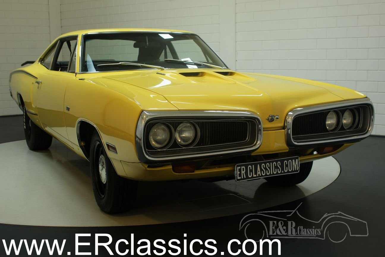 Dodge Coronet Super Bee 1970 in very good condition For Sale (picture 1 of 6)